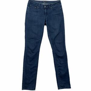 Prana 4 Medium Wash Kara Low Rise Straight Jeans